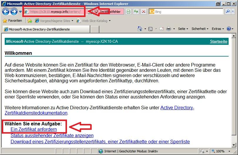 Exchange 2010: Zertifikatsanforderung abschließen (2) » blog.stephan ...
