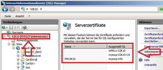 Nice Iis SSL Zertifikat Installieren Ideas - Online Birth ...