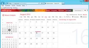01 - OWA Kalender