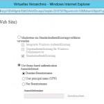 03 - ECP - Server - Virtuelle Verzeichnisse - OWA Authentifizierung